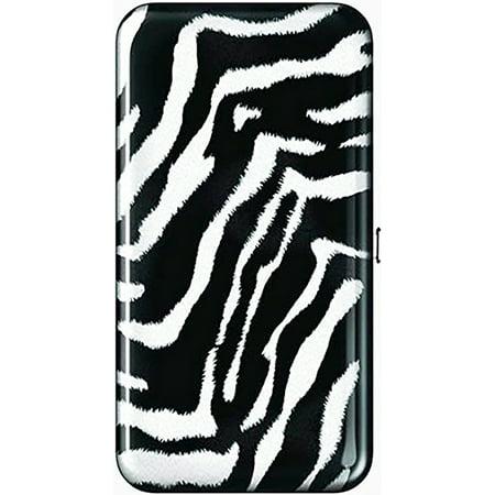 Spoontiques RFID Security Flat Wallet - Zebra Print