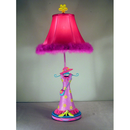 Judith Edwards Designs Girl Dress 27'' Table Lamp