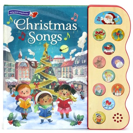 Christmas Songs: Deluxe Sound Book Wood Module (Board Book) ()