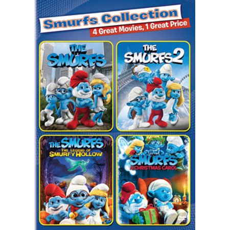 The Smurfs Halloween (The Smurfs 2 / The Smurfs / The Smurfs: The Legend of Smurfy Hollow / The Smurfs Christmas Carol)