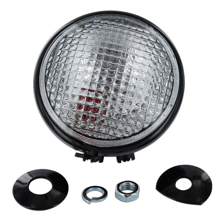 AA6733R New 12 Volt Rear Light Combo Red Dot Lamp Assem For John Deere 50 60 +