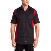 Dickies Occupational Workwear Ls524Bker Xlt Polyester/ Cotton Men's Short Sleeve