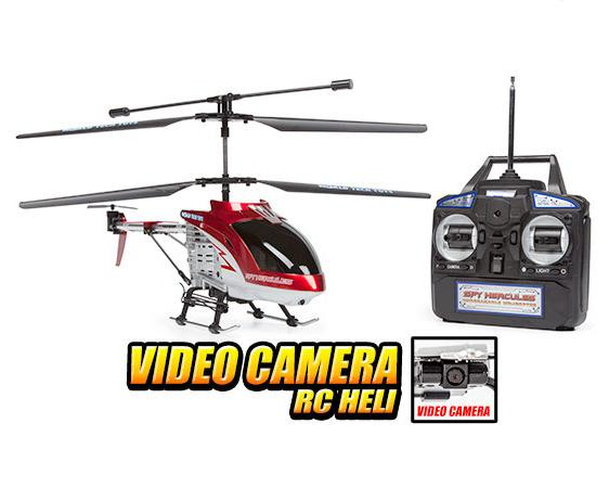 Spy Hercules Camera RC Helicopter by World Tech Toys