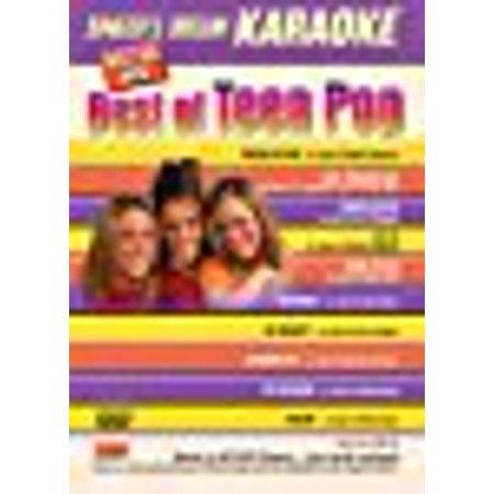 Singers Dream Karaoke Skd9512 Dvd   Best Of Teen Pop