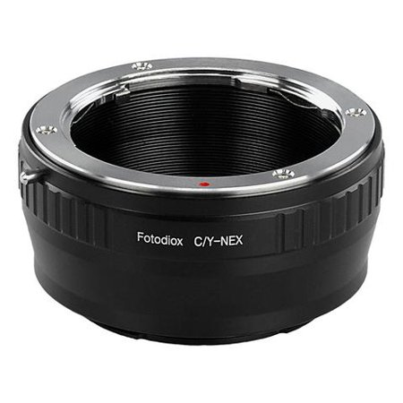 Fotodiox Lens Mount Adapter - Contax/Yashica (CY) SLR Lens to Sony Alpha E-Mount Mirrorless Camera - Contax Lens Mount