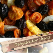 """Food Dehydrator Sheets, Set of 9 Premium 14"""" X 14"""" Non-stick Teflon, For Excalibur 2500, 3500, 2900 or 3900, By Chuzy Chef®"""