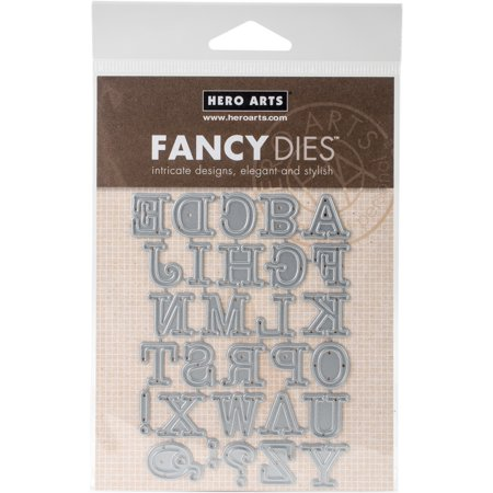 Hero Arts Frame Cut Dies-Alphabet Uppercase