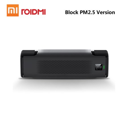 Xiaomi Roidmi P8 Smart Car Air Purifier with OLED Display Mute Block PM2.5 Formaldehyde Haze Purifiers Intelligent Mi Home APP 12V (Best Number Blocking App)