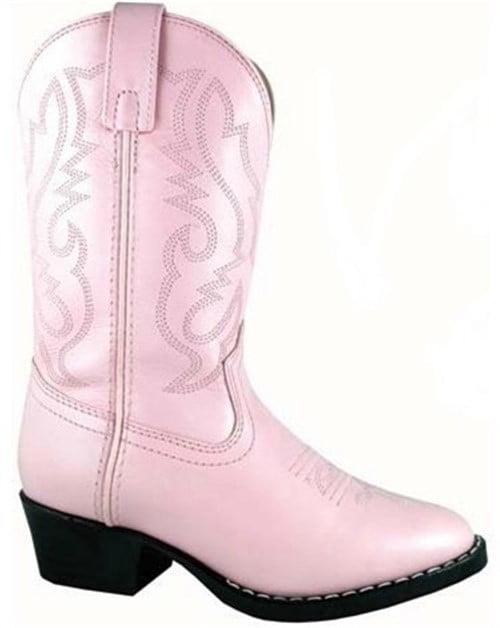 Smoky Mountain Boots Children Girls Denver Pink Leather Western 9.5 D