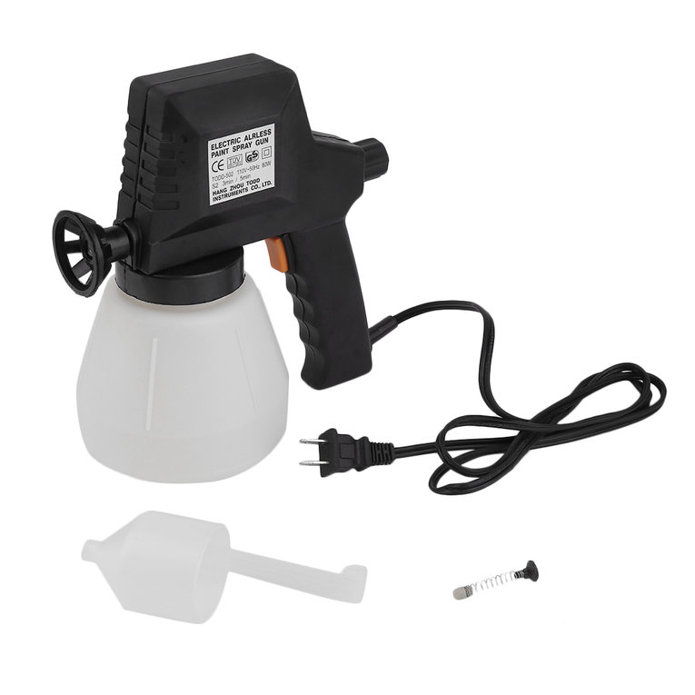 Less Paint Electric 45W Airless Ai Household Diy Painting Gun Sprayer 900ml