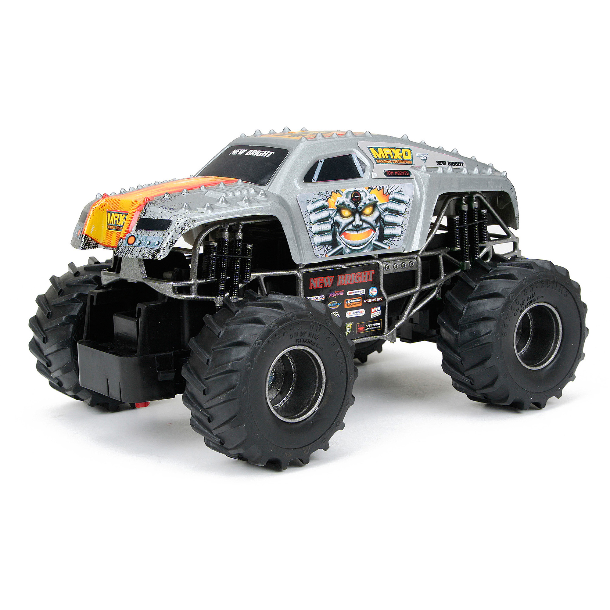 New bright 124 scale rc monster jam max d walmart sciox Choice Image