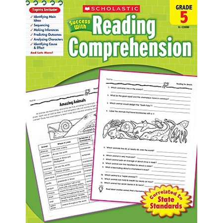 Scholastic Success with Reading Comprehension, Grade