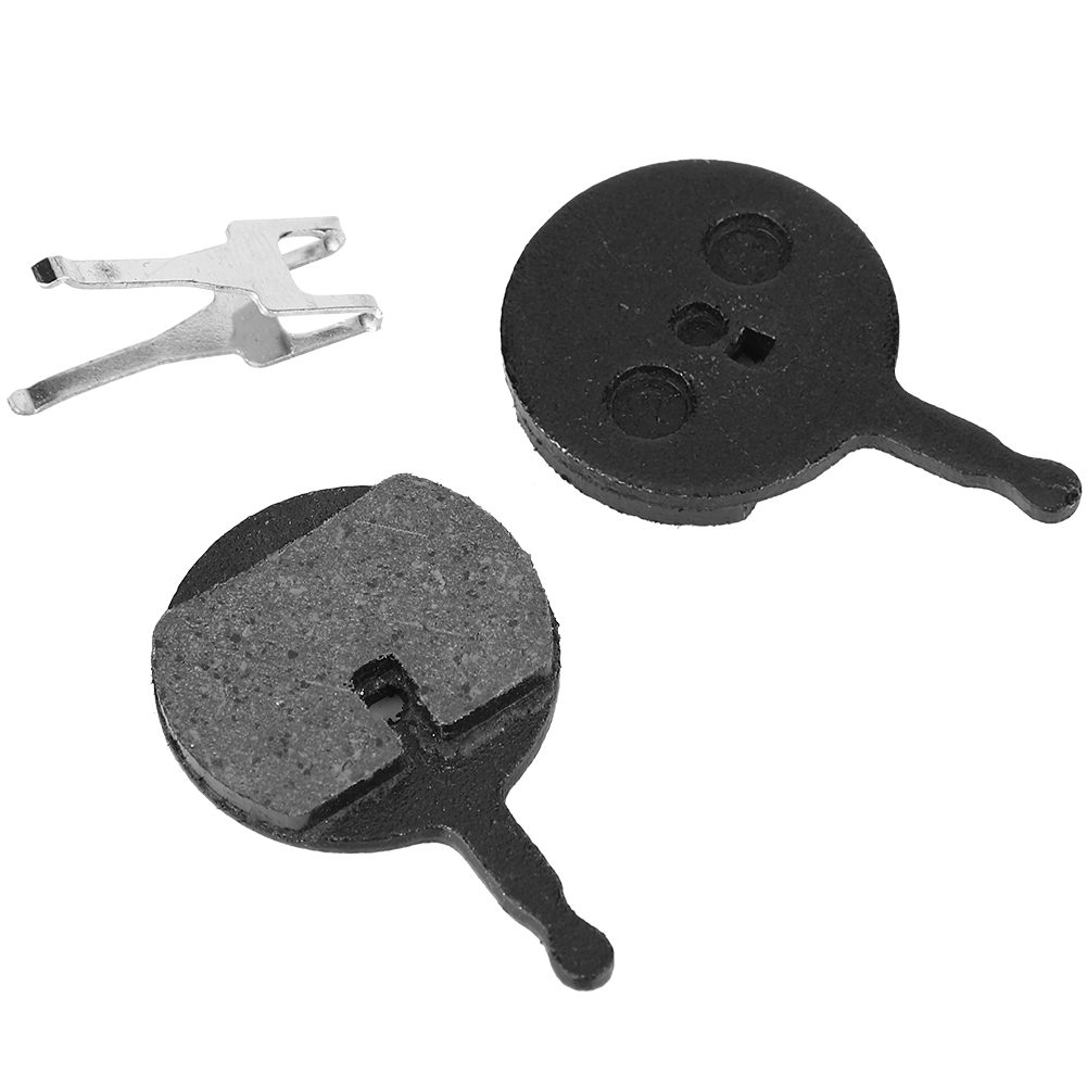1Pair Metal Pads for Bikes Disc Bicycle Brake Bike Semi-metallic Resin Brake ^P