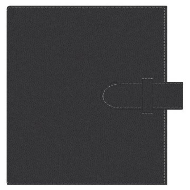 Pierre Belvedere Executive A5 Notebook, Refillable, Black...