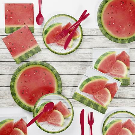 Watermelon Picnic Party Supplies Kit