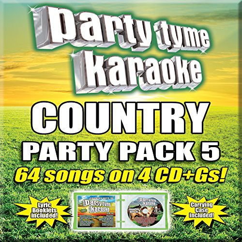 Party Tyme Karaoke: Country Party Pack 5 (CD)
