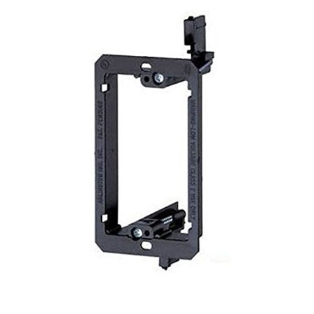Gang Bracket (iMBAPrice Single Gang (1-Gang) Low Voltage Mounting Bracket - Black )