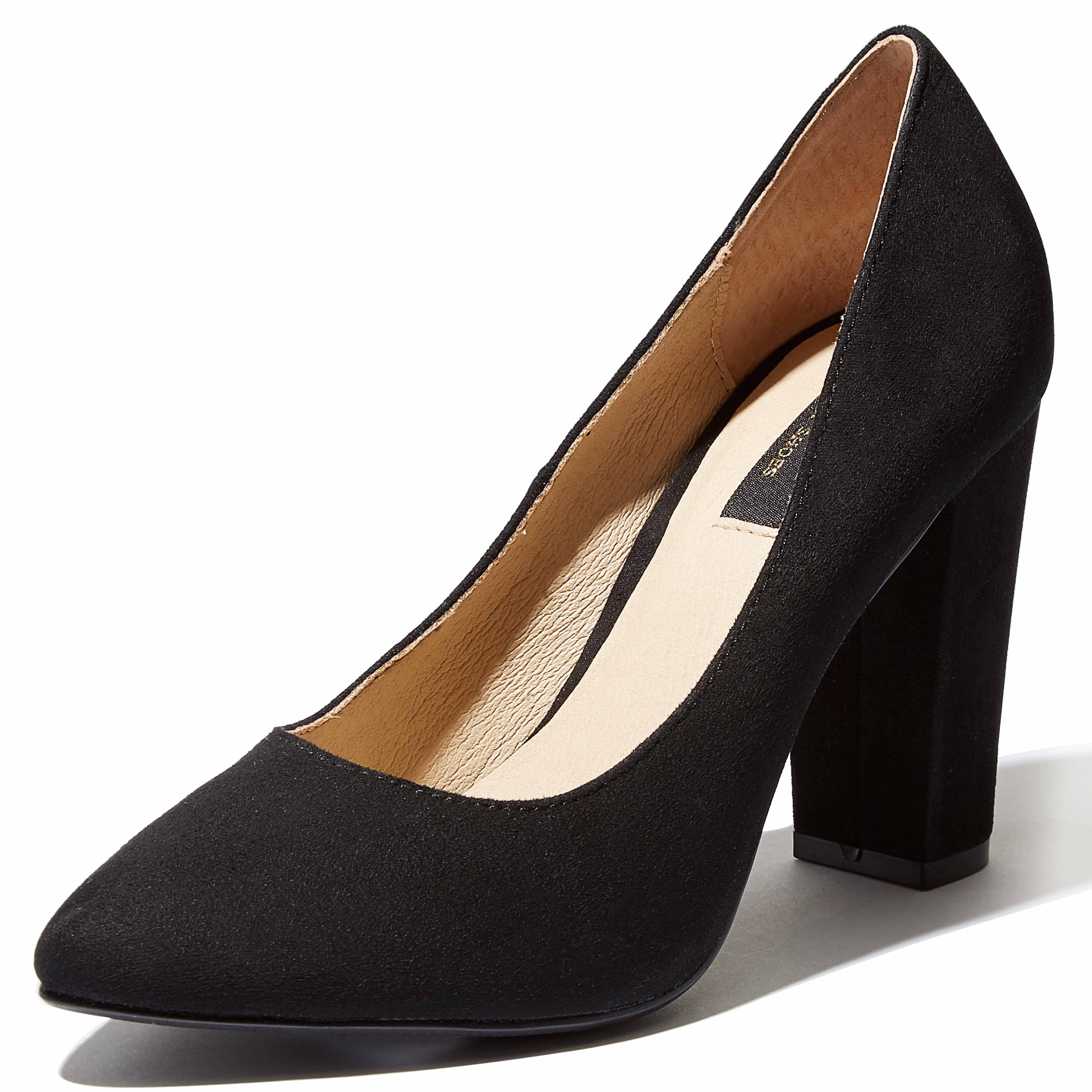 DailyShoes Memory Foam High Heels