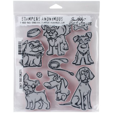 Tim Holtz Cling Stamps, 7
