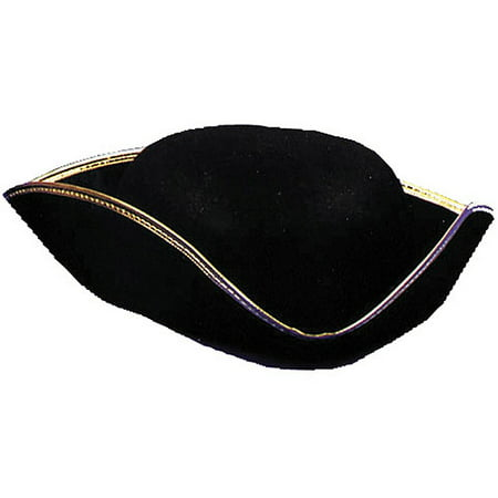 Tricorn Economy Hat Adult Halloween Accessory