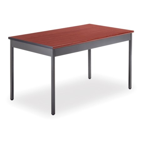 - UT3048-CHY School furniture 30 Inch x 48 Inch Multi-Purpose scratch-Proof laminate top library CHERRY Utility Table Top