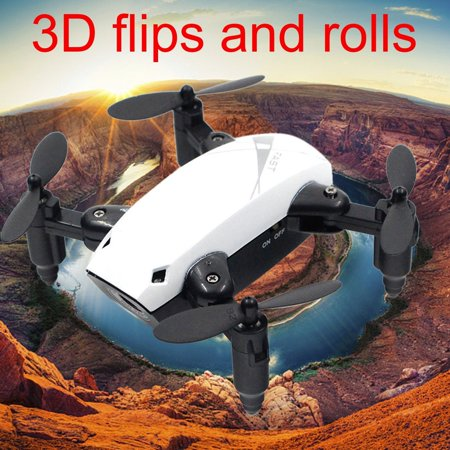 S9 Mini RC Drone 2.4G 4CH 6-Axis Foldable RTF Quadcopter Altitude Hold One-Key Return Helicopter Headless Aircraft