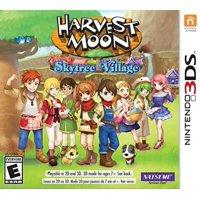 Harvest Moon Skytree Village, Natsume, Nintendo 3DS, 719593140122