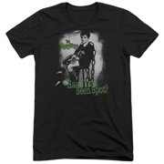 The Munsters Have You Seen Spot Mens Tri-Blend Short Sleeve Shirt