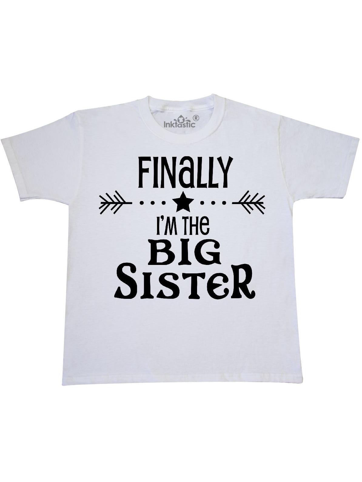 Finally I'm the Big Sister Youth T-Shirt