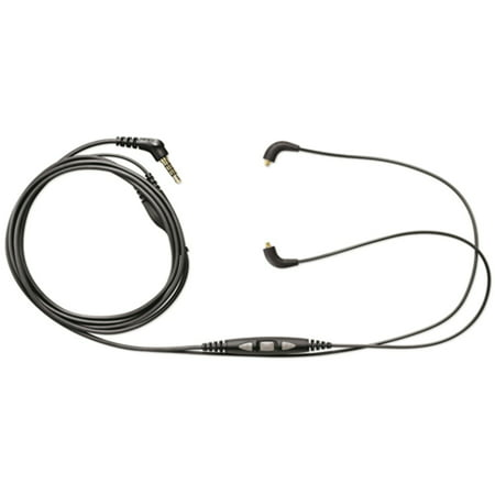 Shure Music Phone Cable with In-Line Remote + Mic (CBL-M+-K-EFS)
