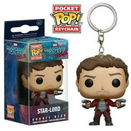 Funko Pocket Pop  Keychain  Guardians Of The Galaxy Vol 2   Star Lord