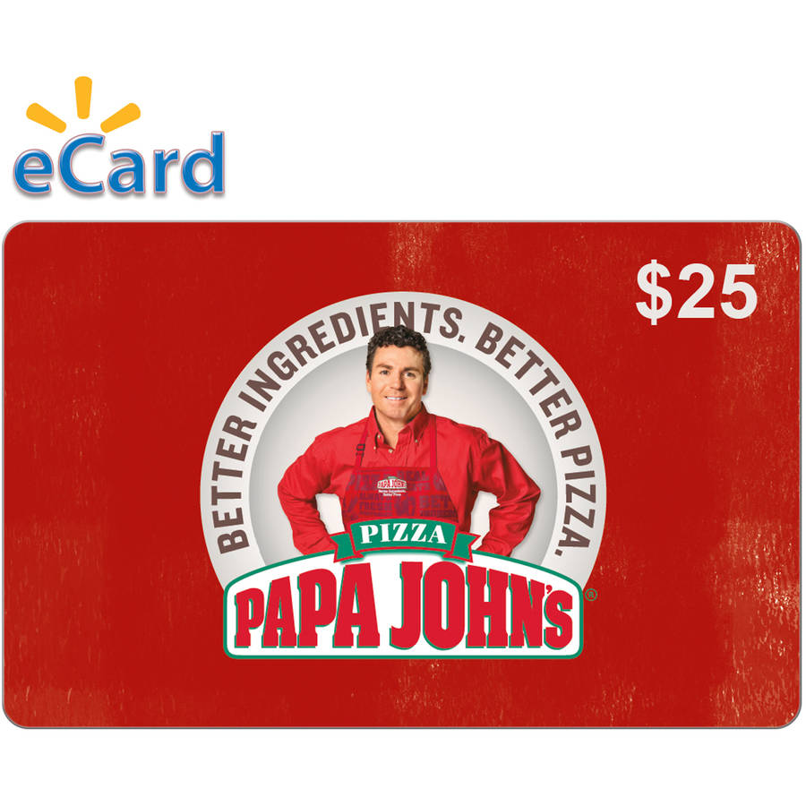 Papa John's $25 (Email Delivery) - Walmart.com