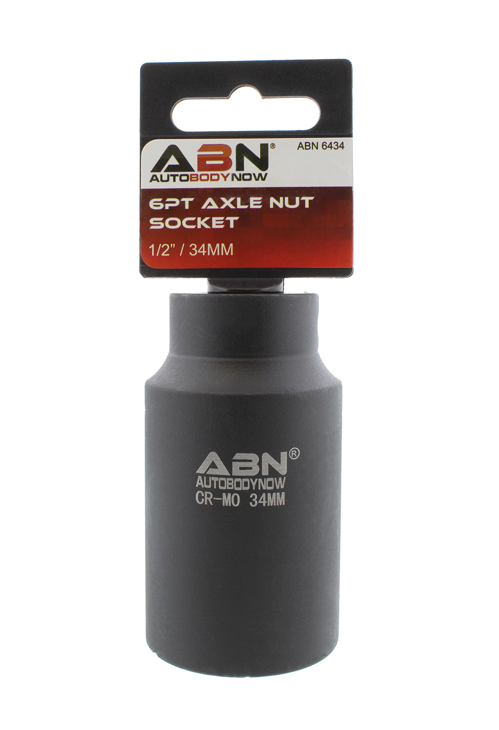 "ABN Axle Nut Socket 1 2"" Inch Drive Universal for 6pt Axle Nut on Vehicles by Auto Body Now"