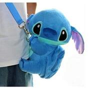 Disney Stitch Soft Plush Crossbody/Shoulder Mini Bag Toy V/S Coin Pocket . Limited Edition