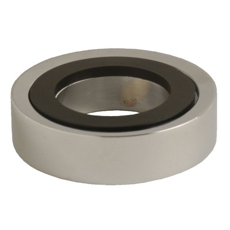 DANCO 3-Inch Decorative Vessel Sink Mounting Ring Chrome, (89489)