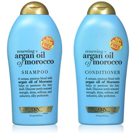 OGX Organix Argan Oil of Morocco Shampoo & Conditioner Set (19.5 Oz