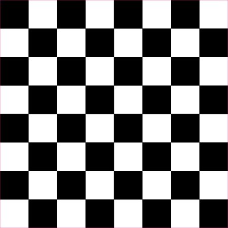 10in x 10in Black Checkered Hobby Cutter Vinyl Sheet -