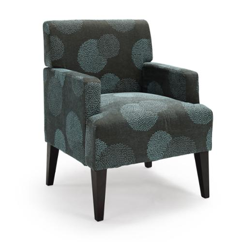 Tux Sunflower Accent Chairs Tux Accent Chair Blue Sunflower