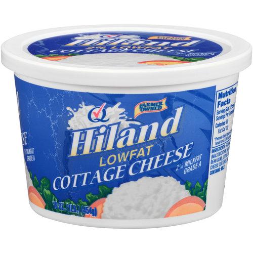 Hiland Lowfat Cottage Cheese, 16 oz