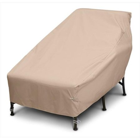 Weathermax Wide Chaise Cover, Toast - 82 L x 42 W x 36 H in.