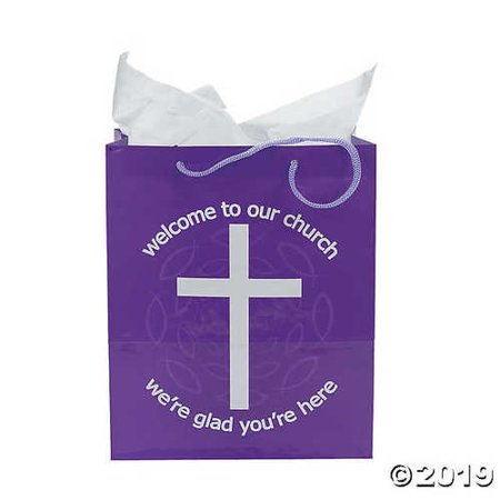 WELCOME TO OUR CHURCH GIFT BAGS (1 DOZEN)