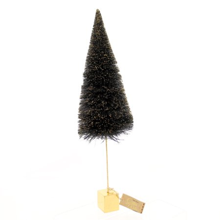 Halloween GOLD BASE SISAL TREE Plastic Glitterville