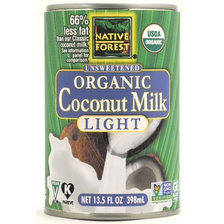 Native Forest Organic Unsweetened Coconut Milk Light, 13.5 FL