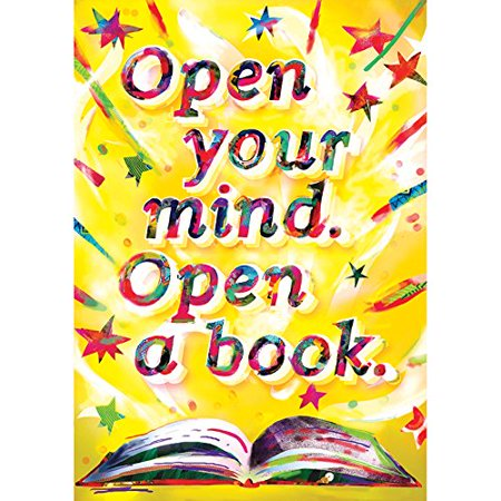 Classroom Resources Open Your Mind POP Chart (054565386X), Bright, energetic colors! By Scholastic Ship from US - Us Size Chart Kids