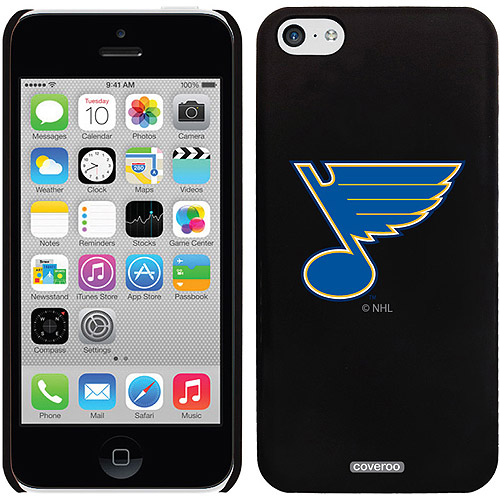 St Louis Blues Primary Logo Design on iPhone 5c Thinshield Snap-On Case by Coveroo