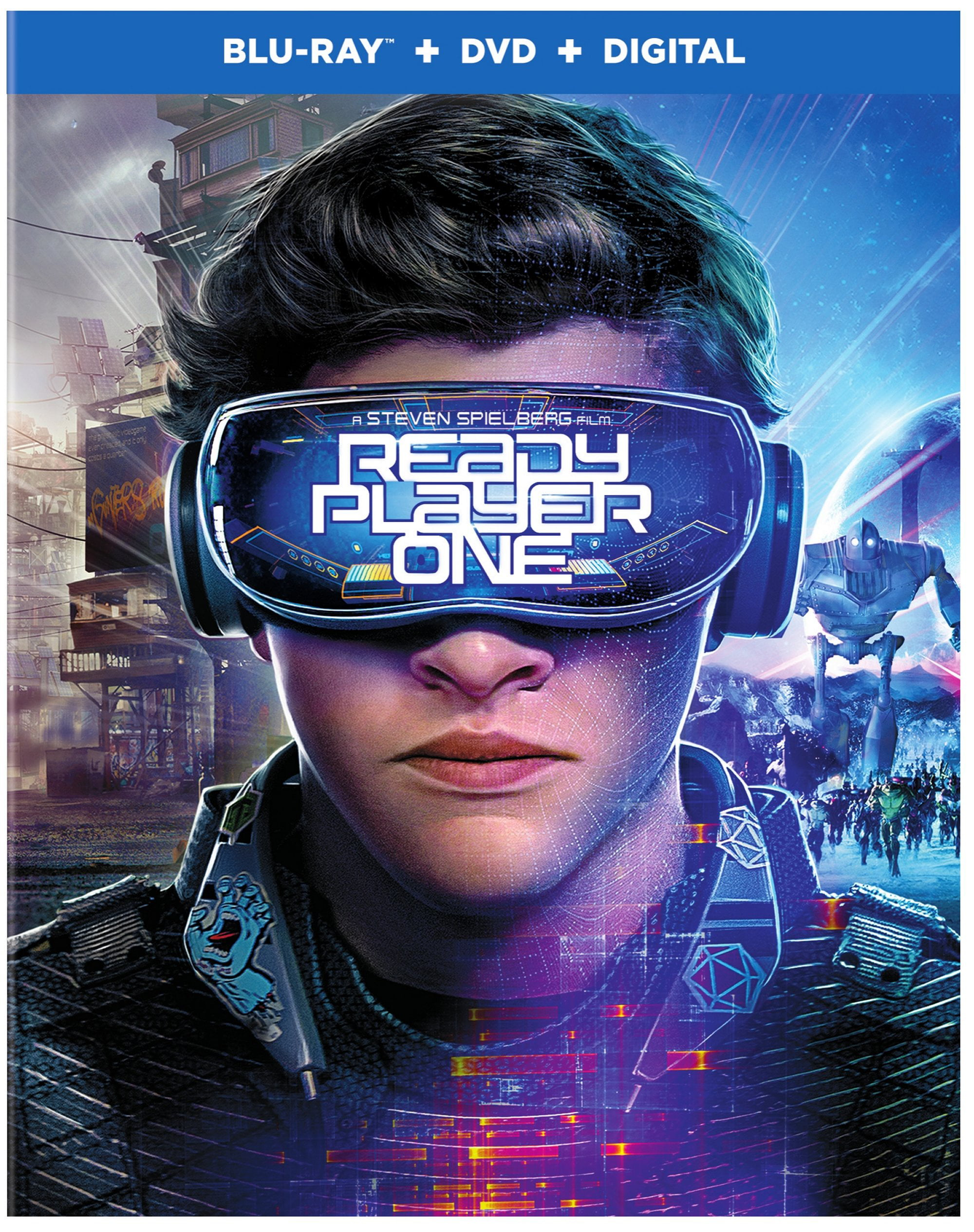 Ready Player One (Blu-ray + DVD + Digital) - Walmart.com