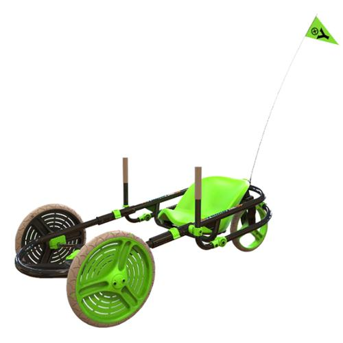 Y-Bike Explorer 2.0 Deluxe 3-Wheel Kids Ride-On Bicycle Go Kart YBike |Green