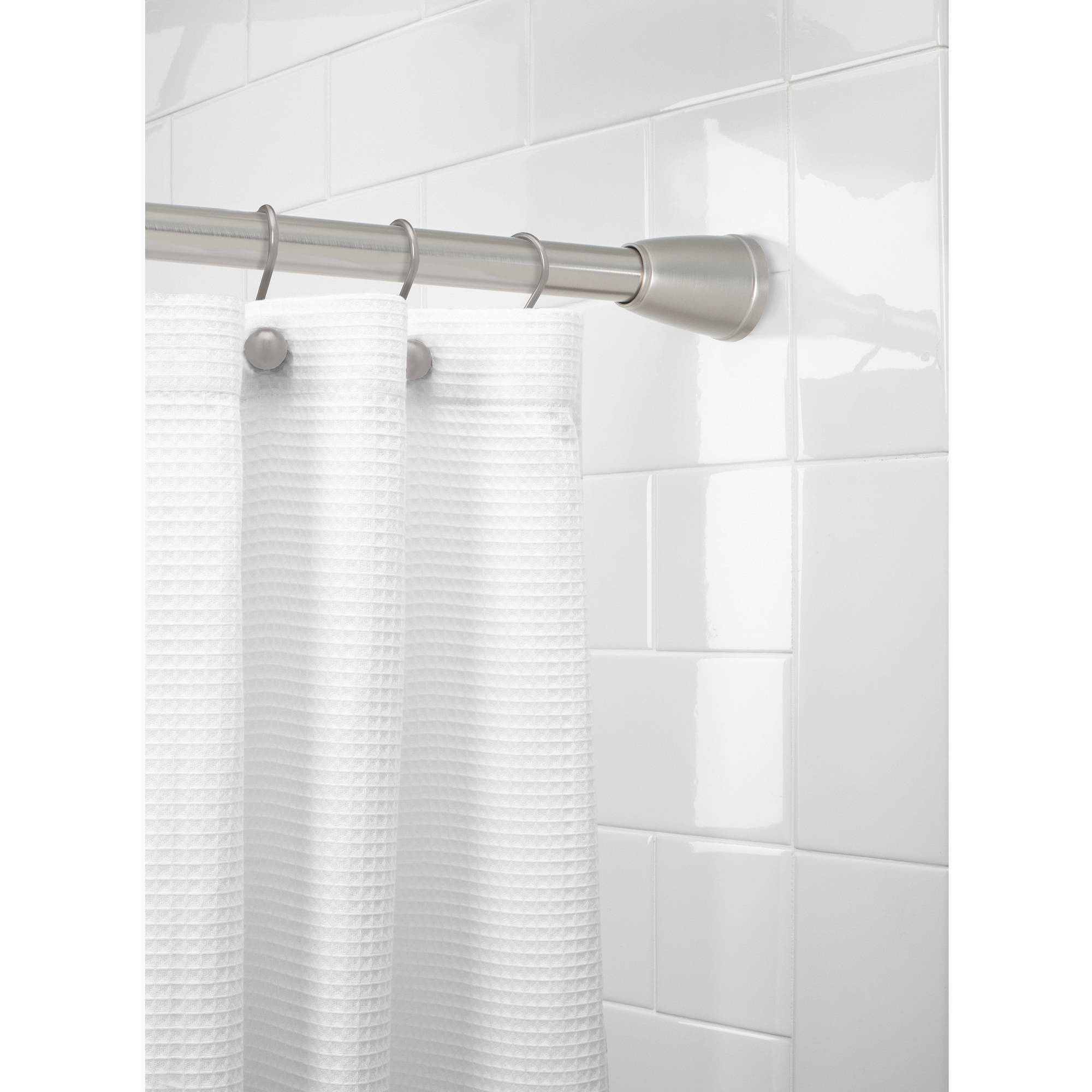 better homes and gardens tapered ez up shower curtain rod
