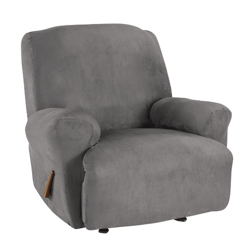 Sure Fit Ultimate Heavy Weight Stretch Suede Recliner Slipcover