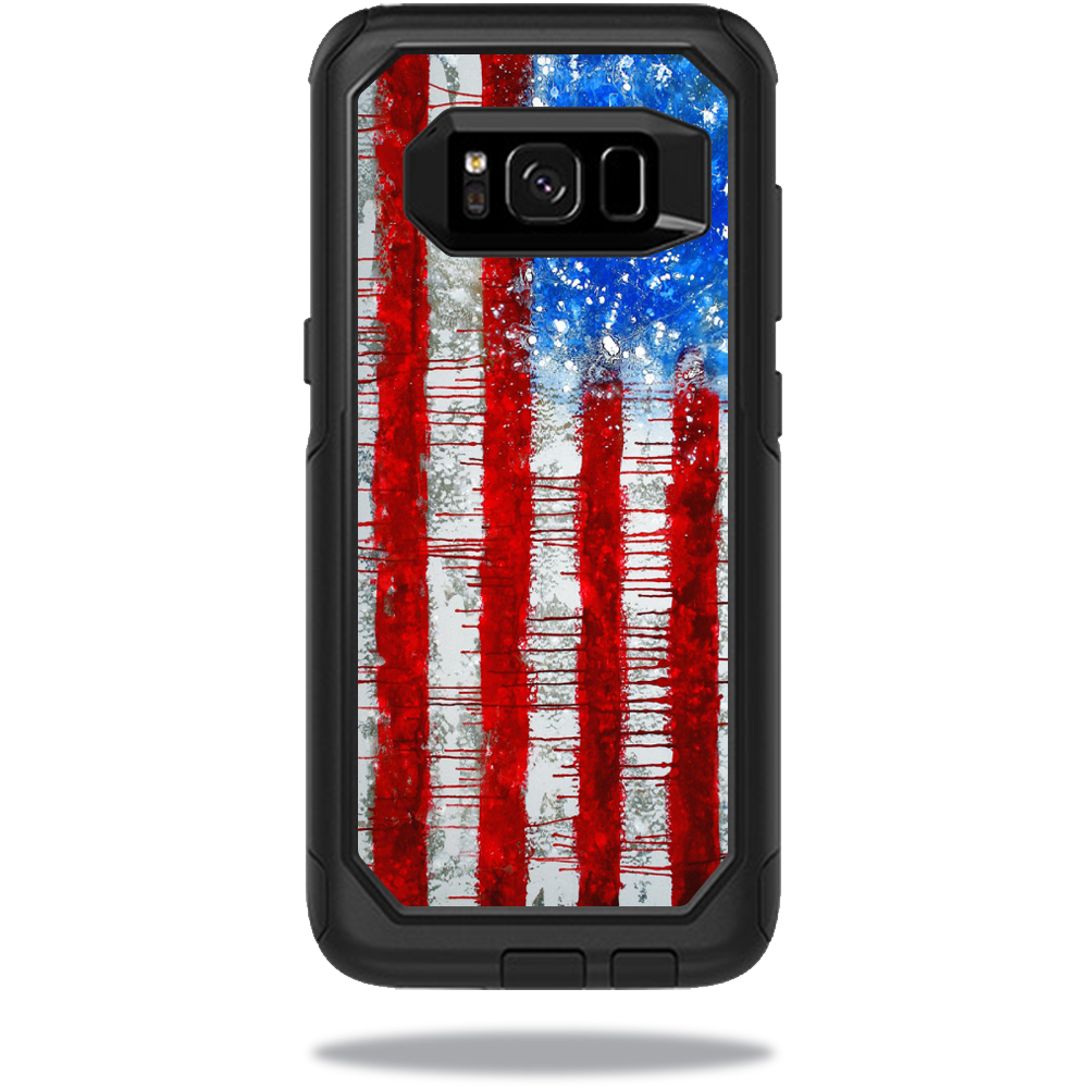 MightySkins Protective Vinyl Skin Decal for OtterBox Commuter Samsung Galaxy S8 Case sticker wrap cover sticker skins Colors Dont Run
